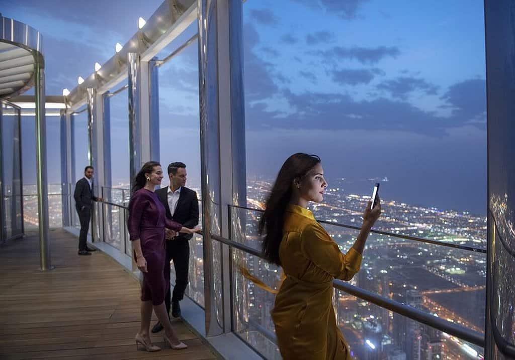 Ausscichtsplattform Burj Khalifa Dubai