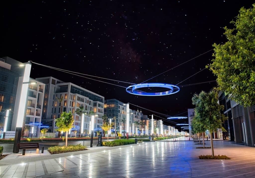 Dubai City Walk Fußgängerzone