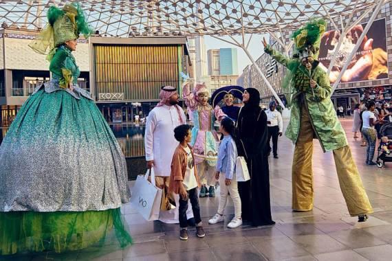 City Walk Dubai: Shopping, Kunst, Natur und Events