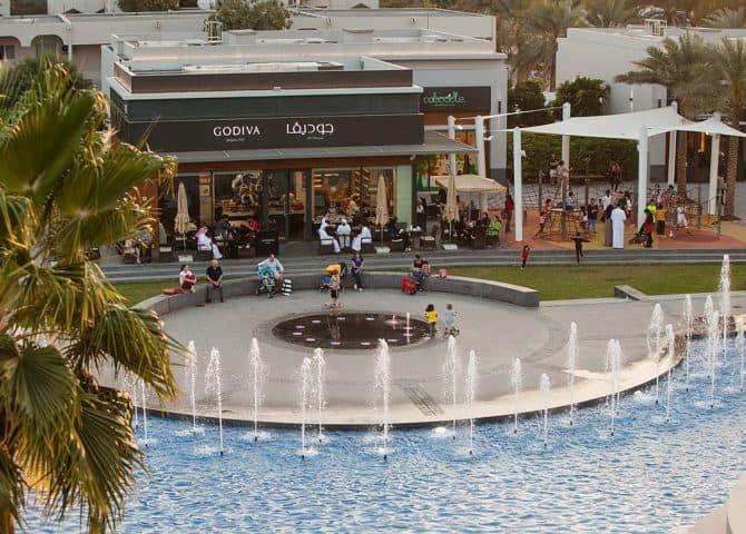 City WAlk Fountains
