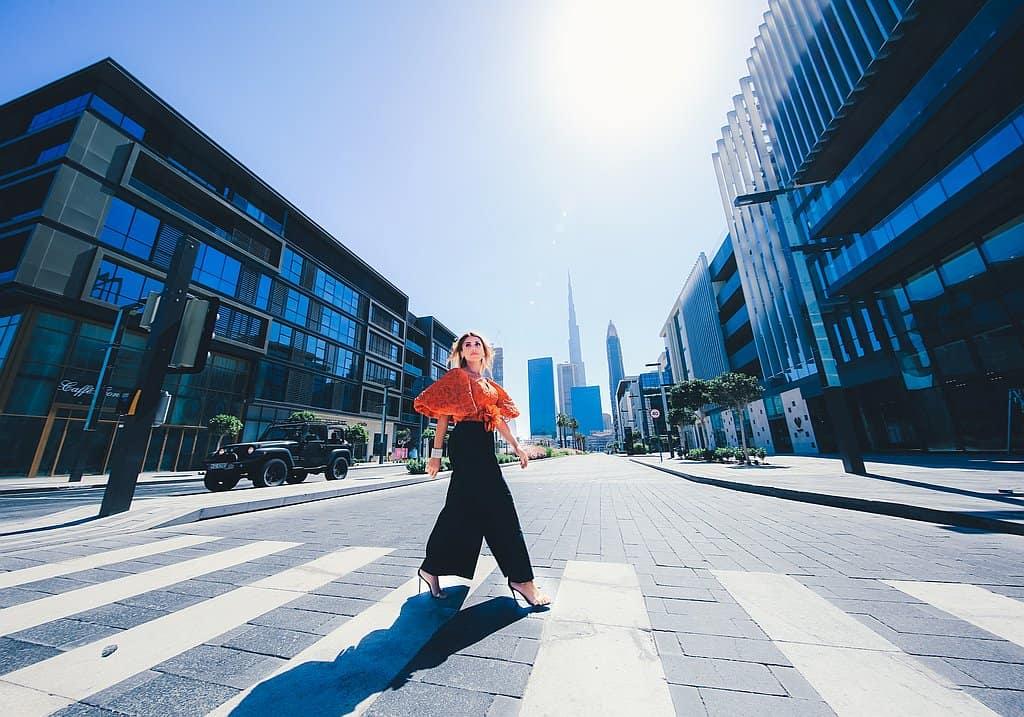 Fußgänger City WAlk