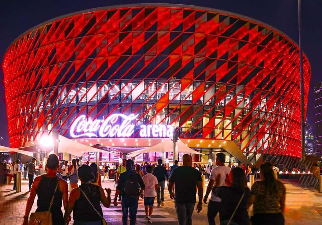 Cocal Cola Arena Außenansicht