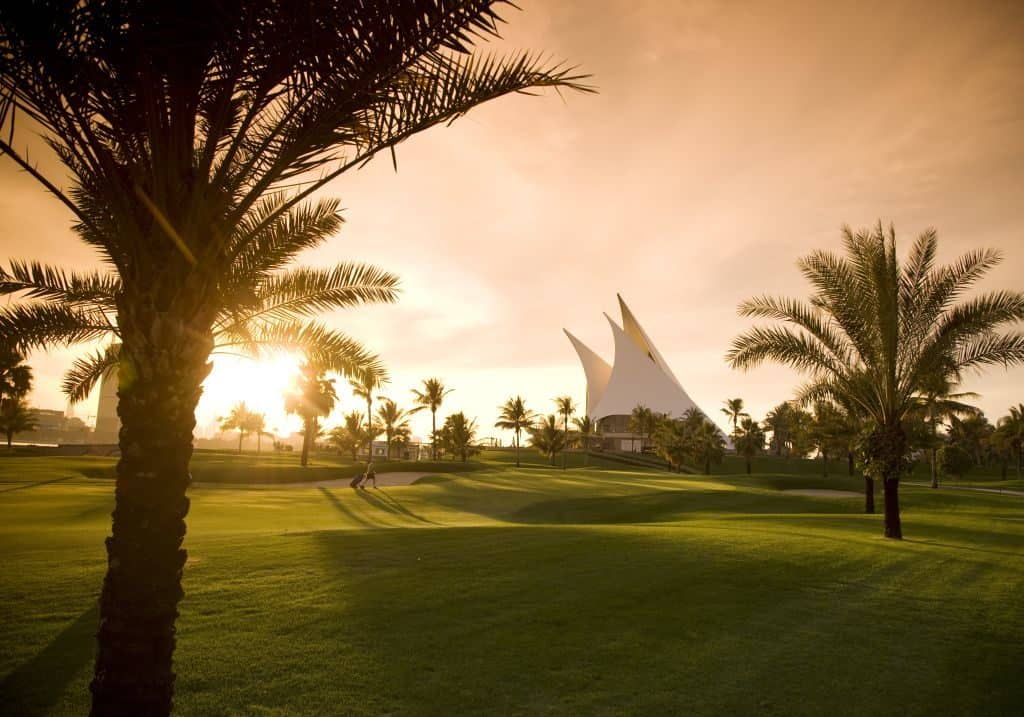 Golfplatz Dubai