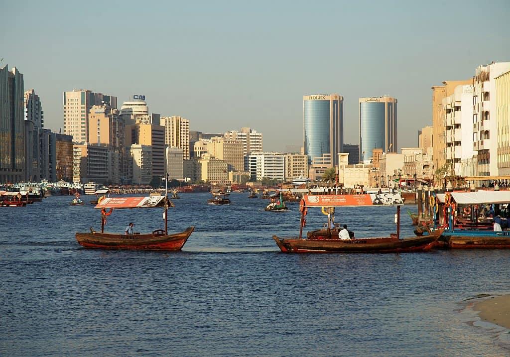 Dubai BLOG Abra Routen