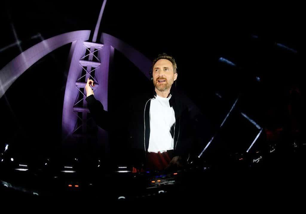 David Guetta Dubai Live-Set
