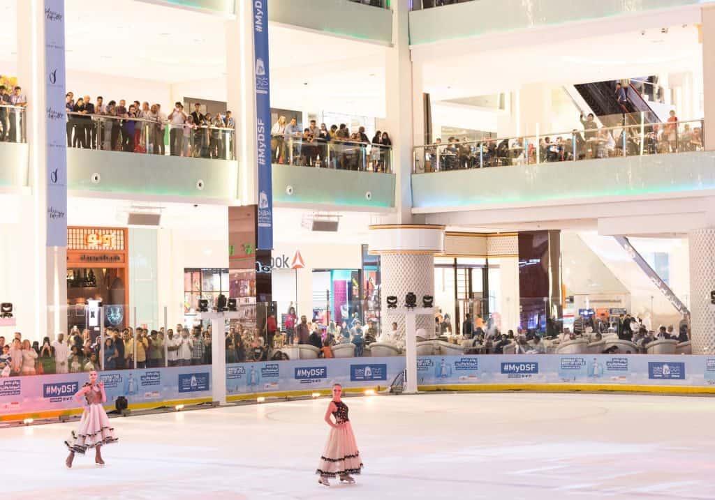Dubai Mall Eislauffläche
