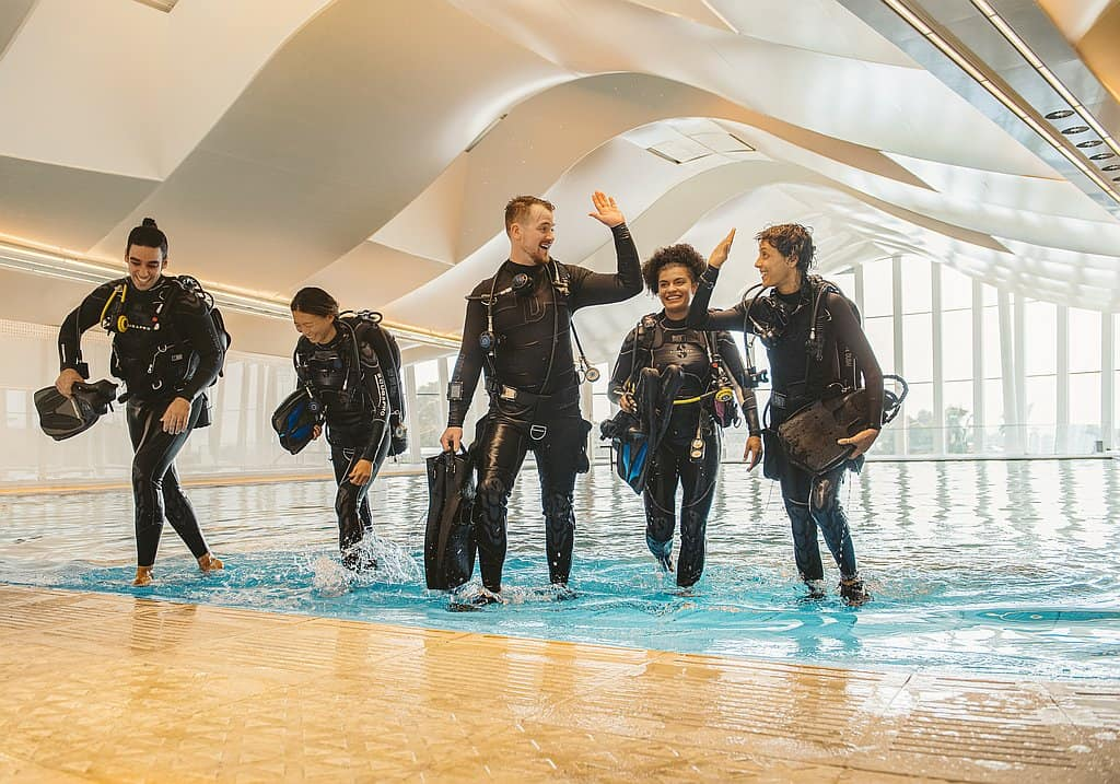 Becken Deep Dive Dubai