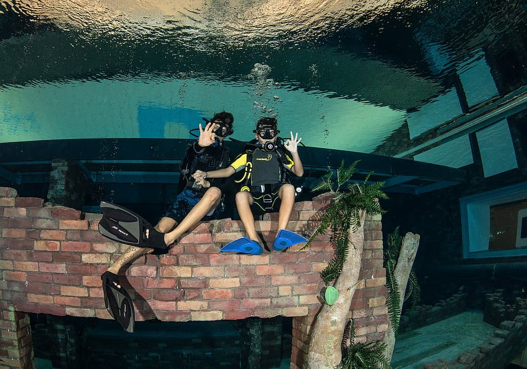Tauchkurse Kinder Deep Dive