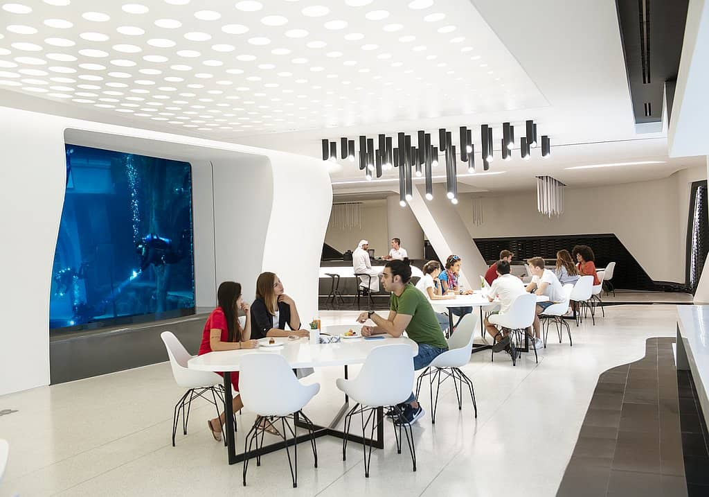 Restaurant Deep Dive Dubai
