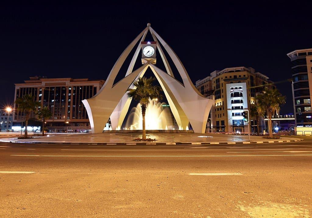 Uhrenturm in Deira, Dubai
