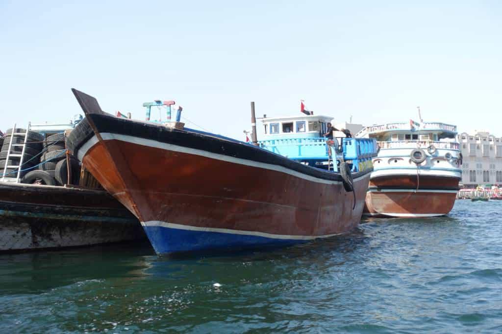 Dhau Handelsschiff