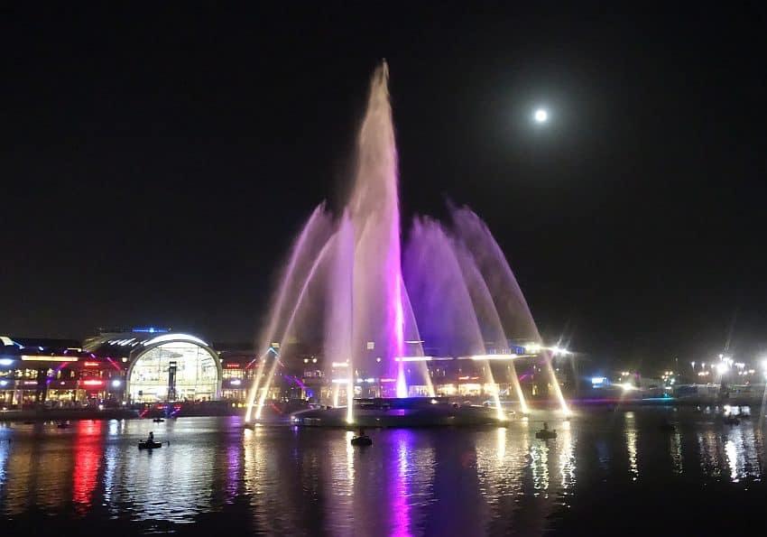 WAssewrfontäne Dubai Festival City