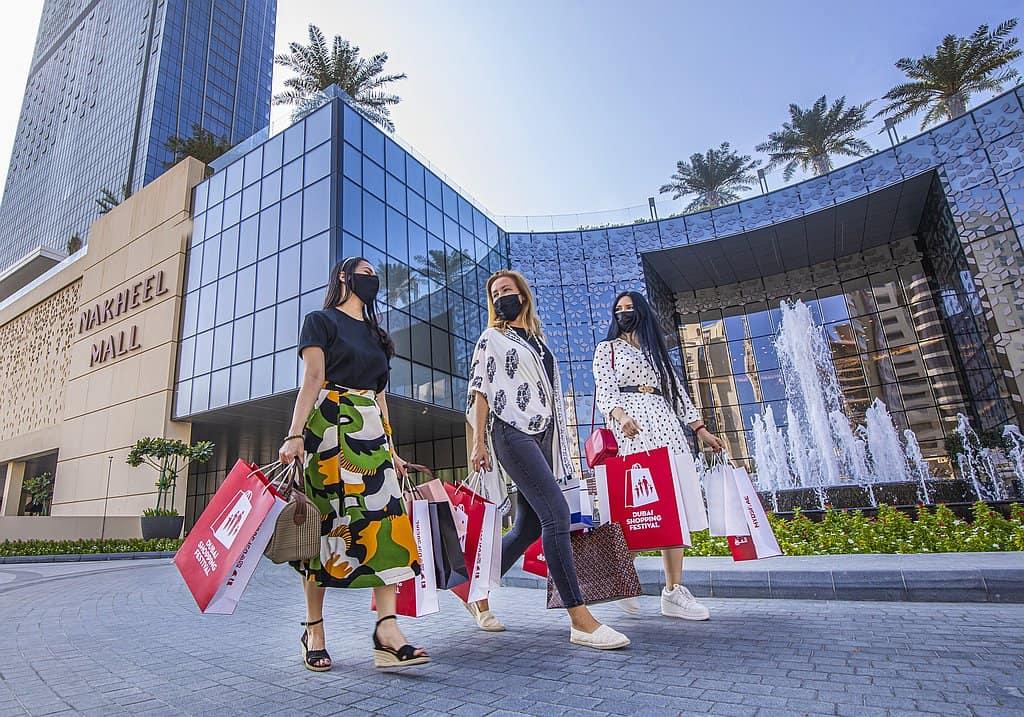 Malls Dubai Corona