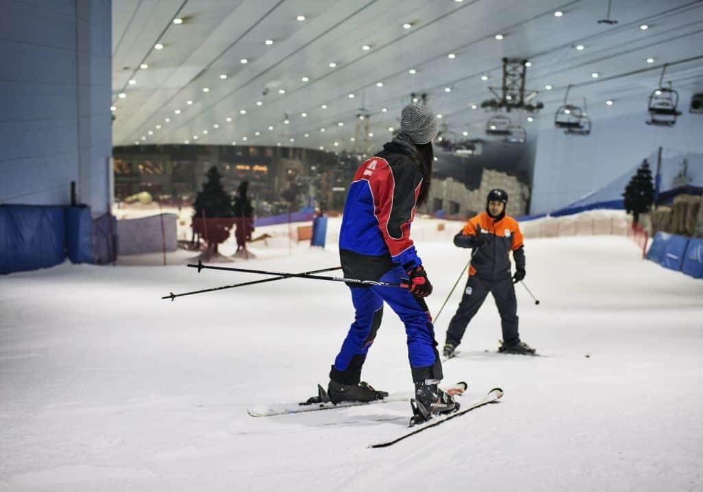 Anfängerkurs Ski Dubai