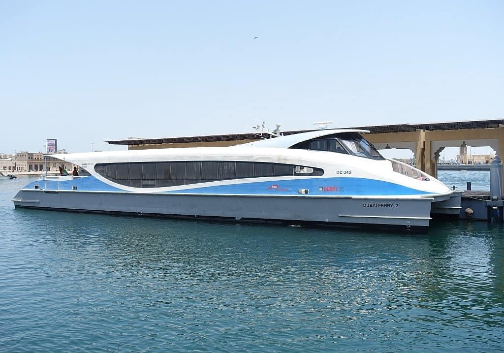 Dubai Fähre Fahrt am Arabsichen Golf