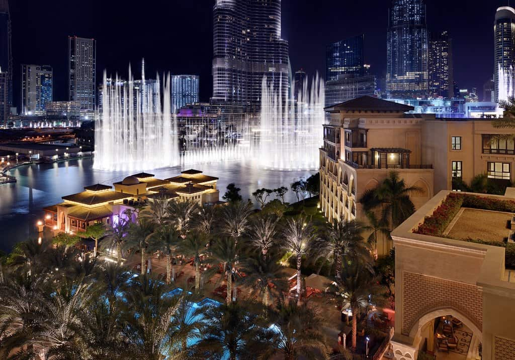 Wasserspiele von Dubai