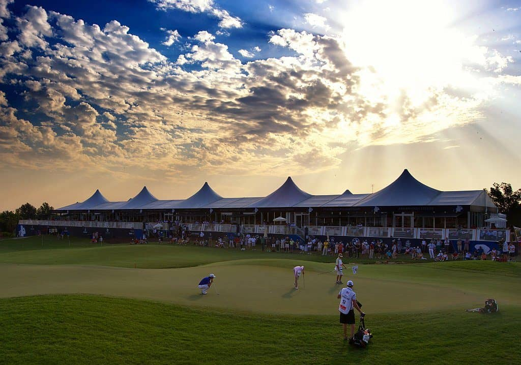 Golfturnier Dubai