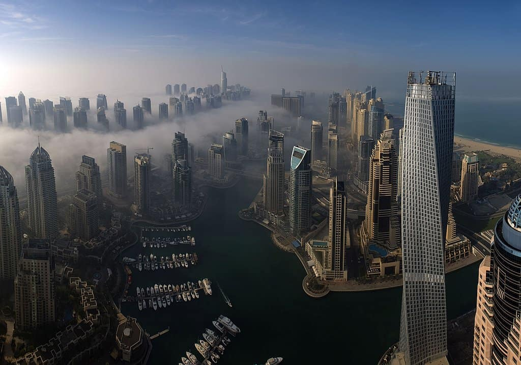 Wolkenkratzer Dubai Marina