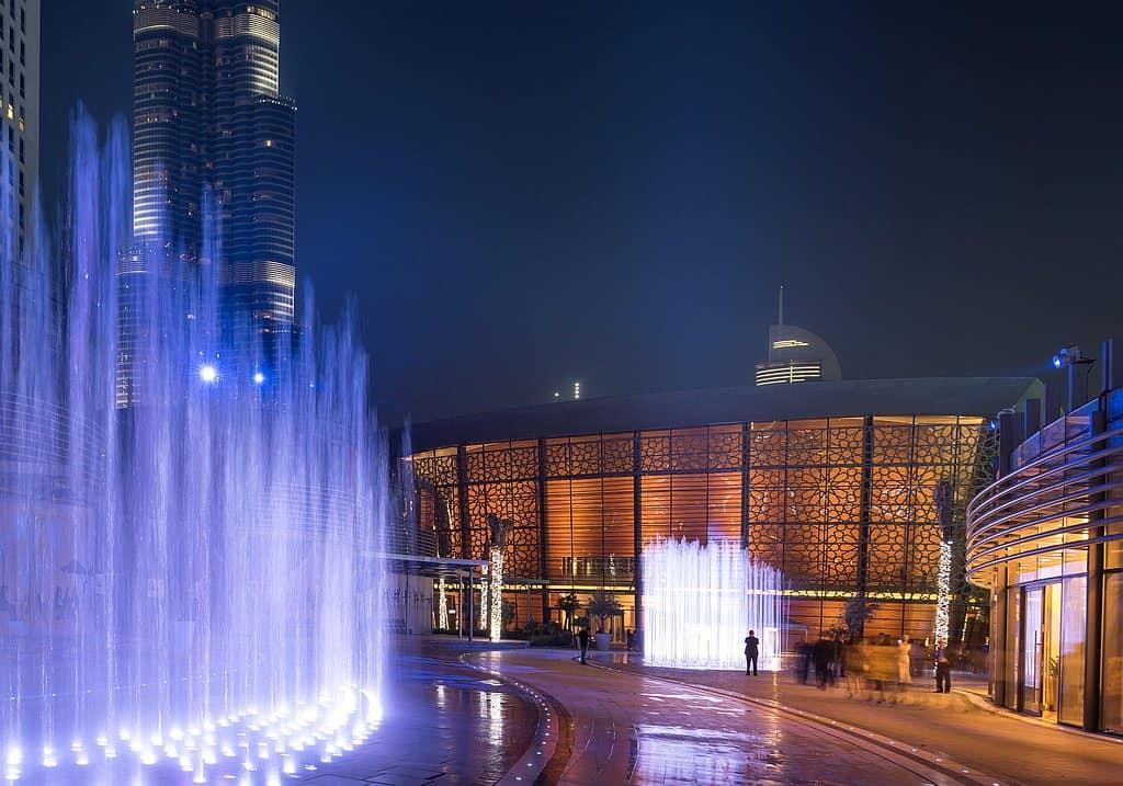 Außenfassade Dubai Opera
