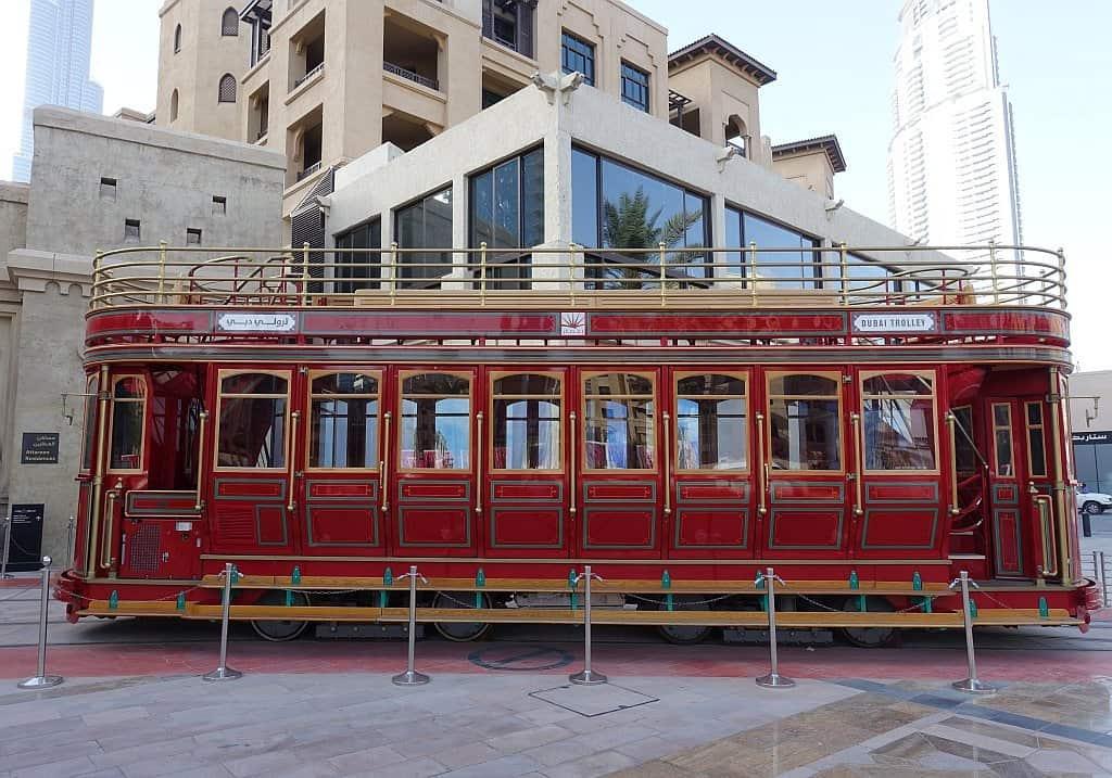 Dubai klassische Tram