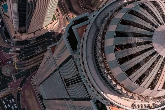 Panorama und Action: Dubai aus der Vogelperspektive
