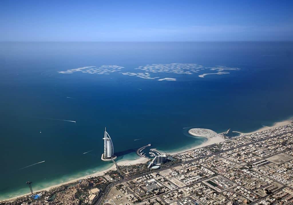 Panorama Helikoptertour Dubai