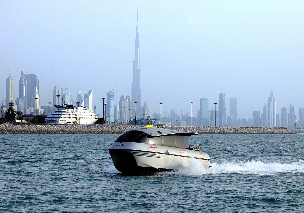 Wassertaxi in Dubai