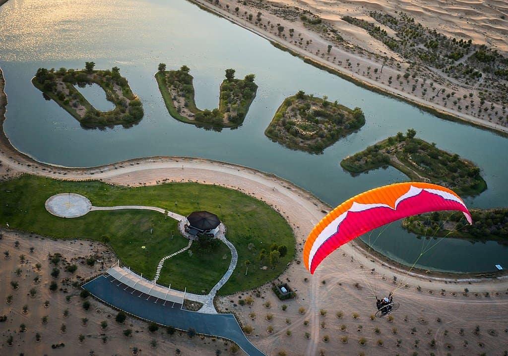 Paragliding Dubai