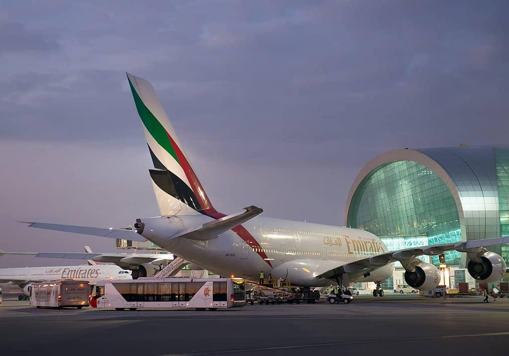 Dubai Airport Corona