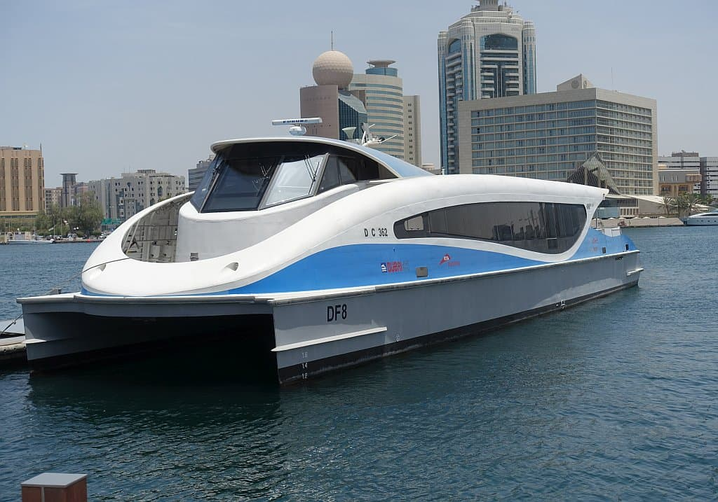 Dubai Ferry Creek Fahrt