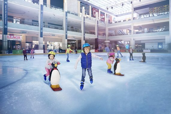 """Eisbahn """"Dubai Ice Rink"""""""