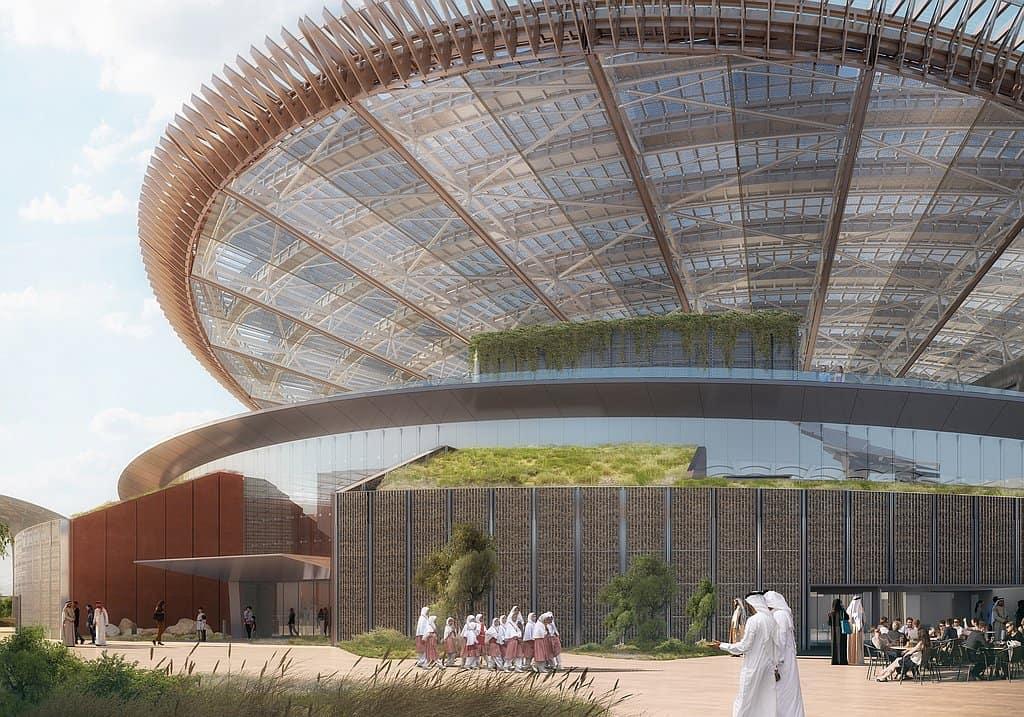 Entrance EXPO 2020