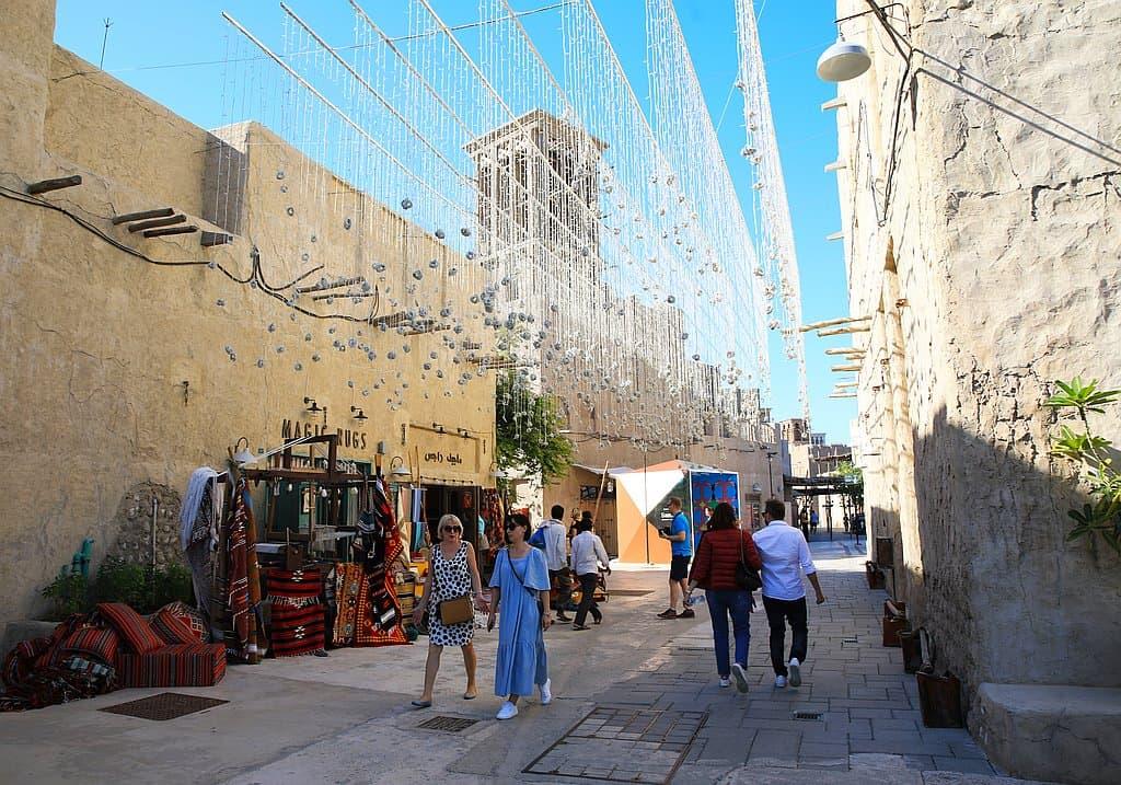 Al Seef Einkaufsstraße