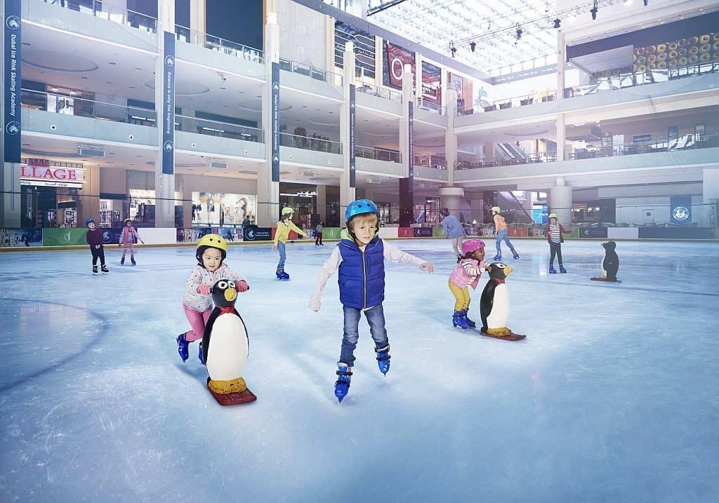 Eisbahn Dubai Mall