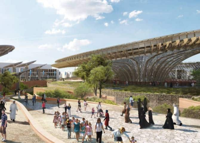 Expo 2020 nachhaltigkeit Pavillon