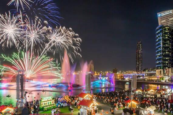 Feuerwerk Festival City