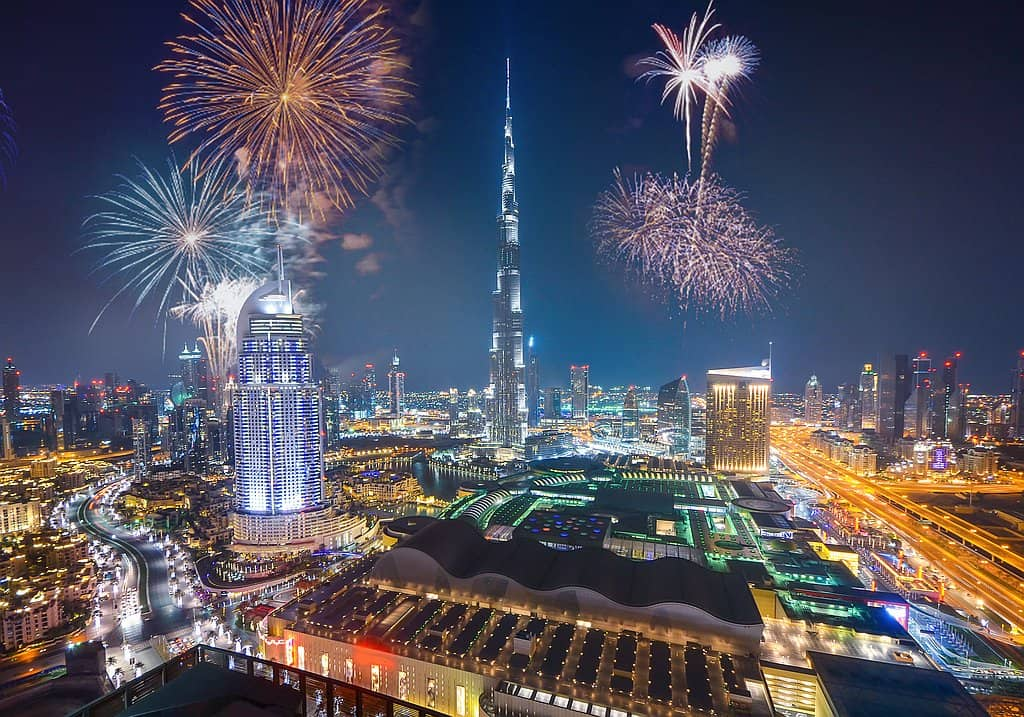 Silvester Downtown Dubai