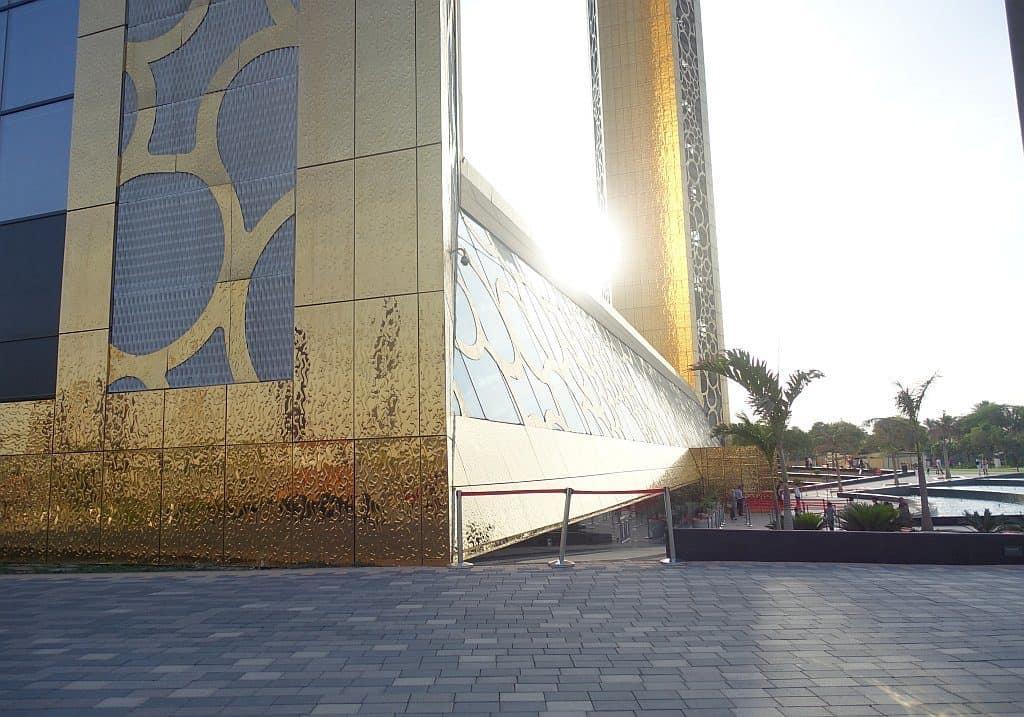 Dubai Frame von außen