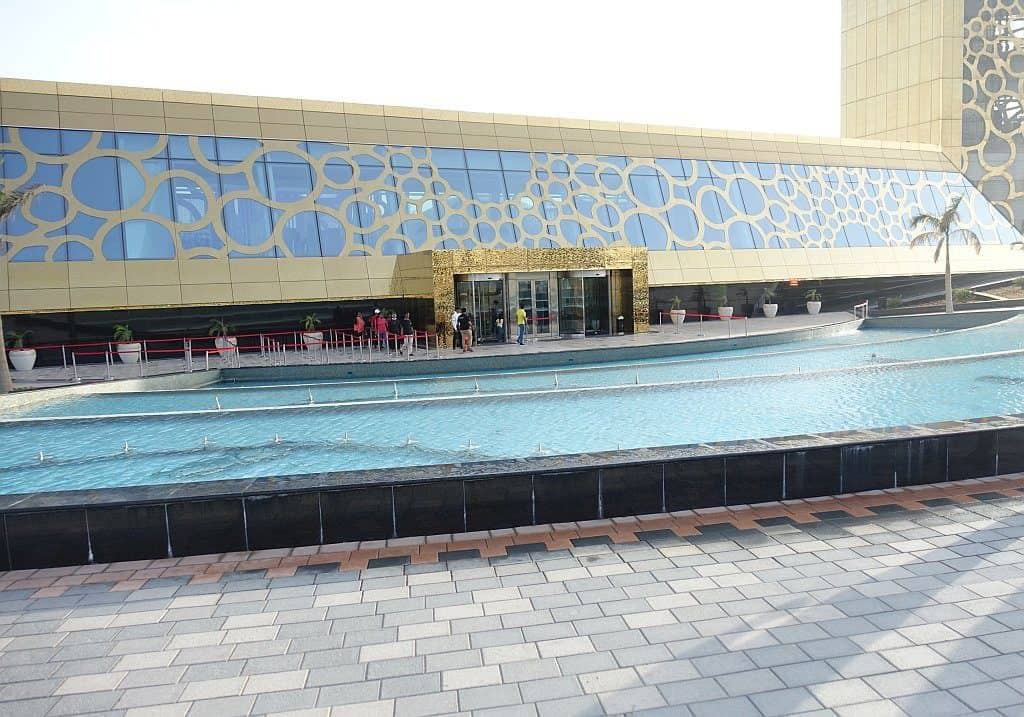 Dubai Frame mit Brunnen