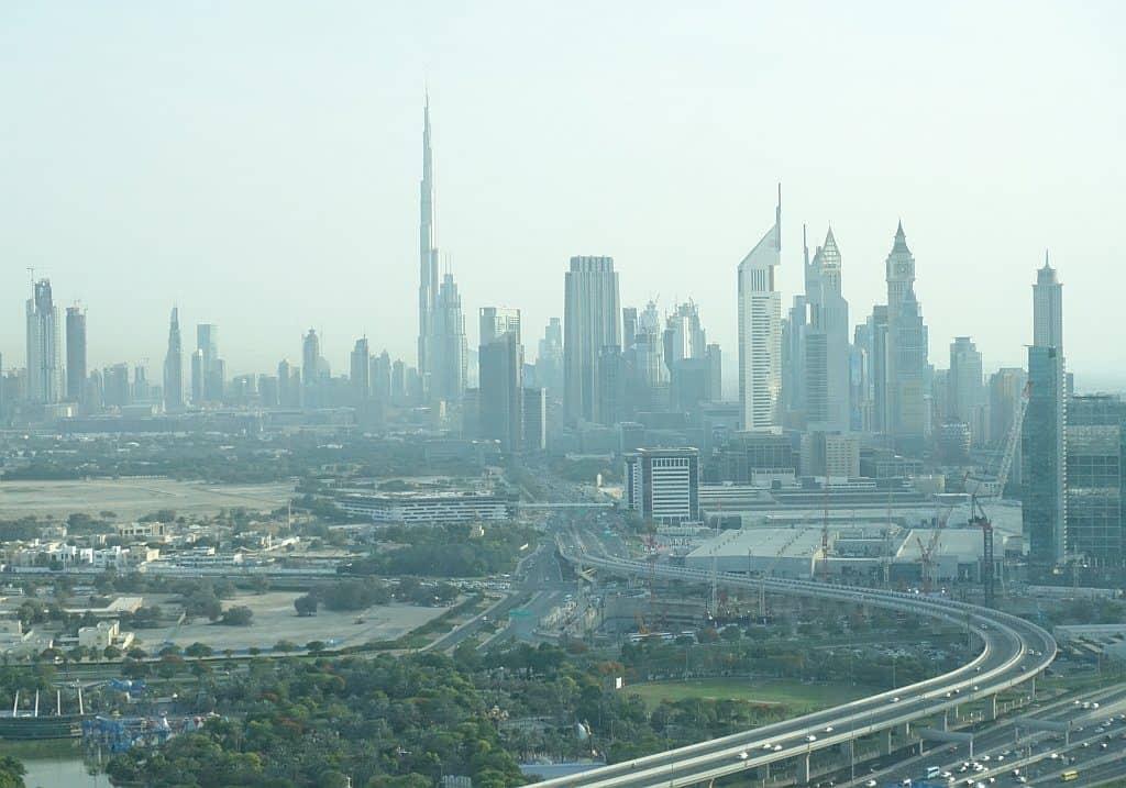 Skyline Dubai Frame