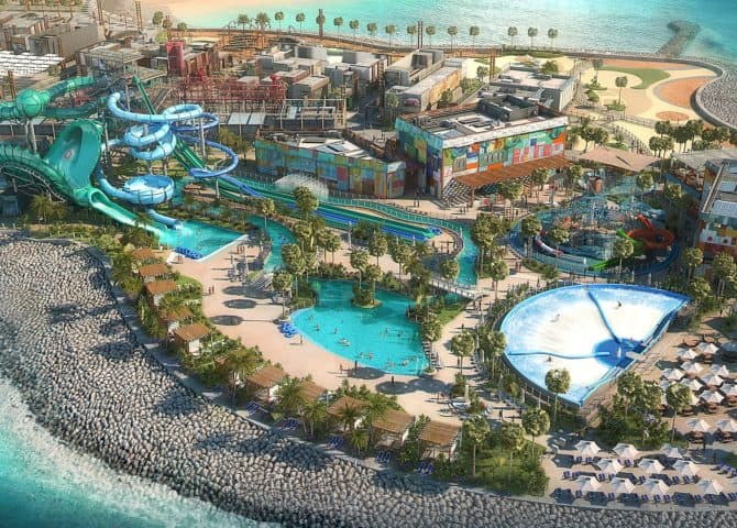 Wasserpark La Mer Dubai
