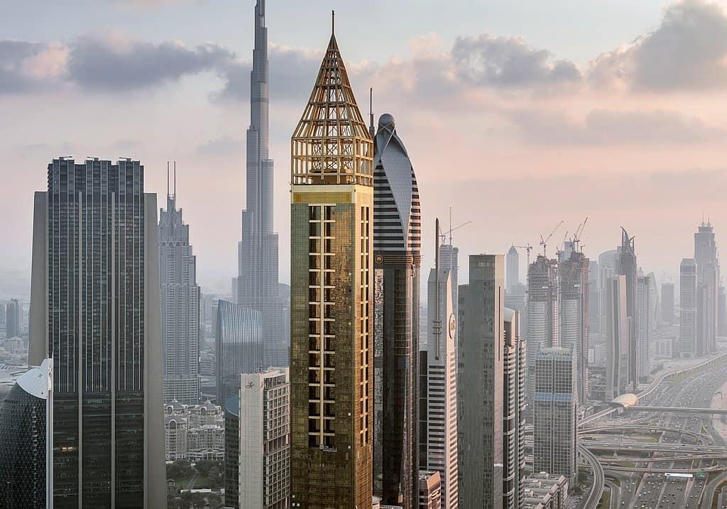 Höchstes Hotel Dubai