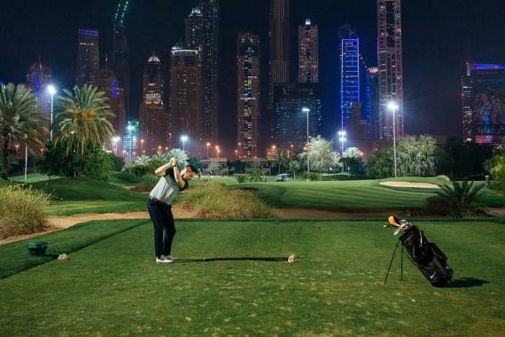 Golfen in Dubai