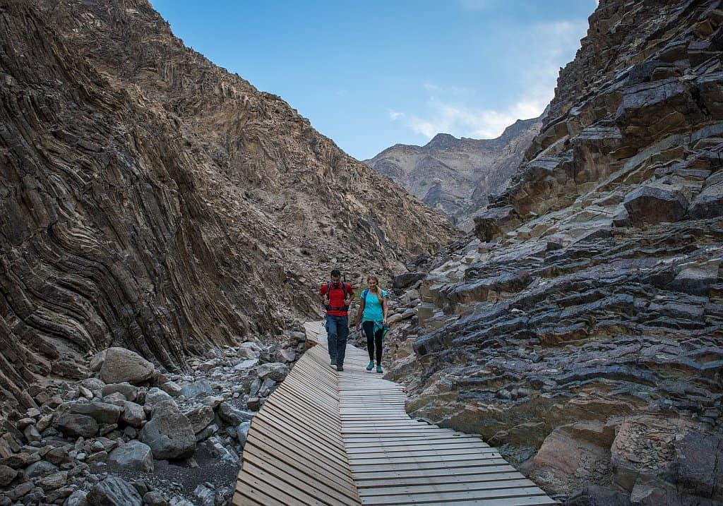 Wandern Hatta Dubai Exklave