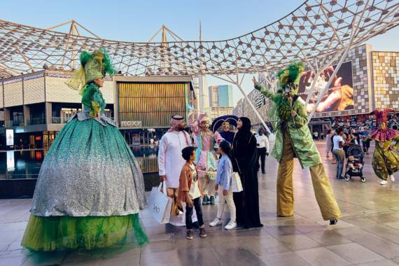 City Walk Dubai: Shopping, Kunst, Natur und Events