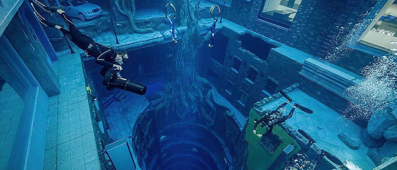 Tiefster Pool der Welt in Dubai