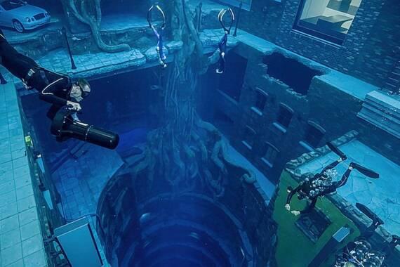 Deep Dive Dubai: Der tiefste Pool der Welt
