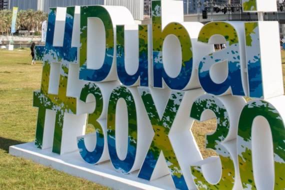 Ein riesiges Sport-Spektakel: Die Dubai Fitness Challenge