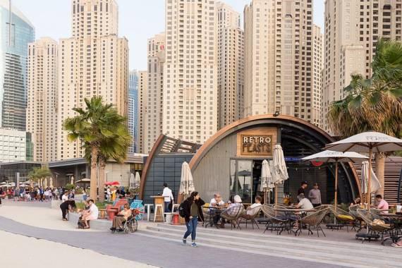 The Walk und The Beach in Dubai