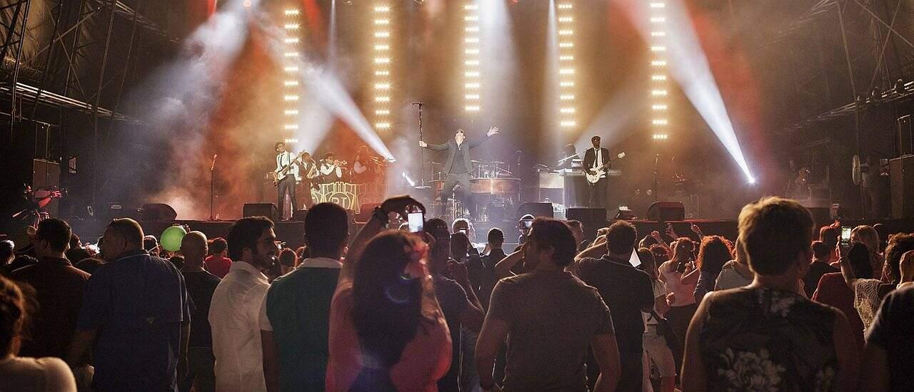 Musikevent in Dubai